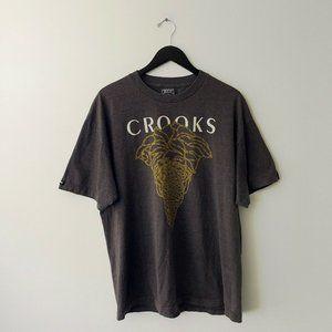 Crooks & Castles Medusa Graphic Tee Shirt XL